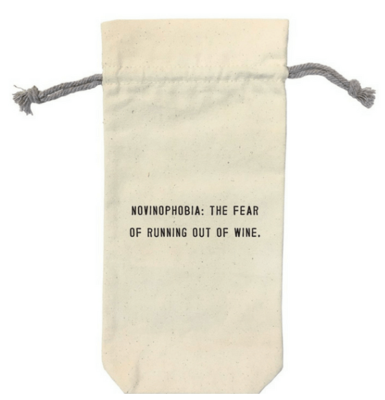 Sugarboo & Co. Wine Bag Novinophobia