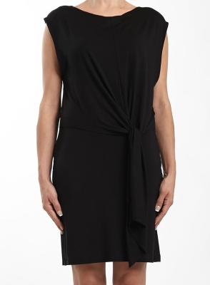Three Dots Tie Front 2-Way Dress
