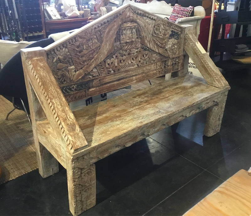 One of a Kind Wood Bench