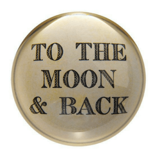 To the Moon Paperweight