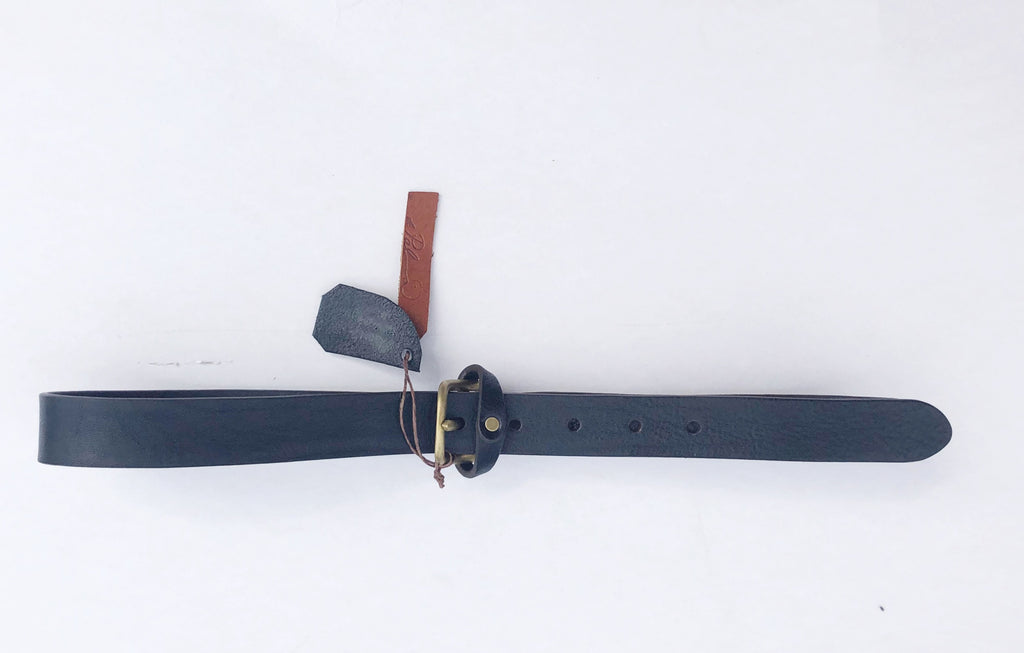 Mon Senor Belt – Black/Brass