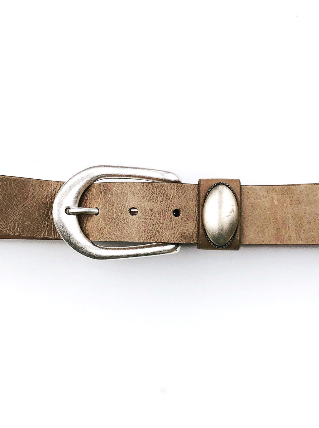 Antique Taupe Belt