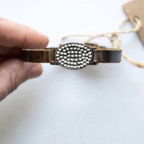 Rebel Small Flat Oval Watch Bracelet