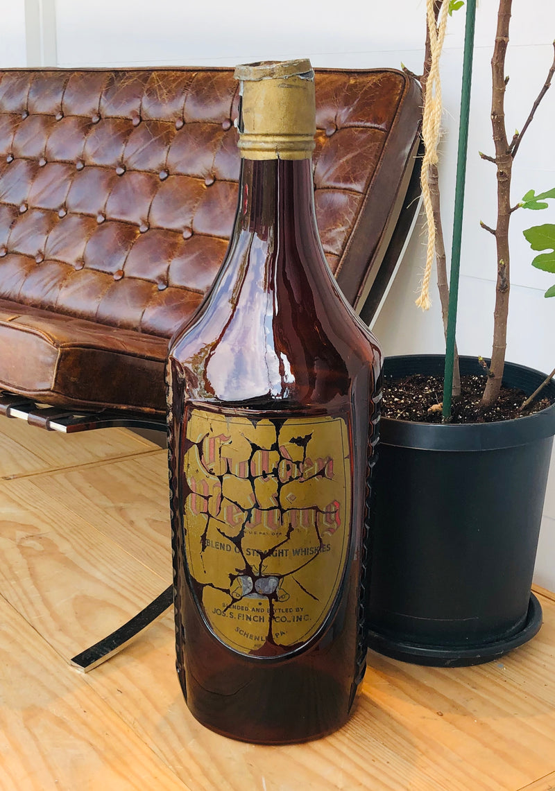 Large Whiskey Bottle