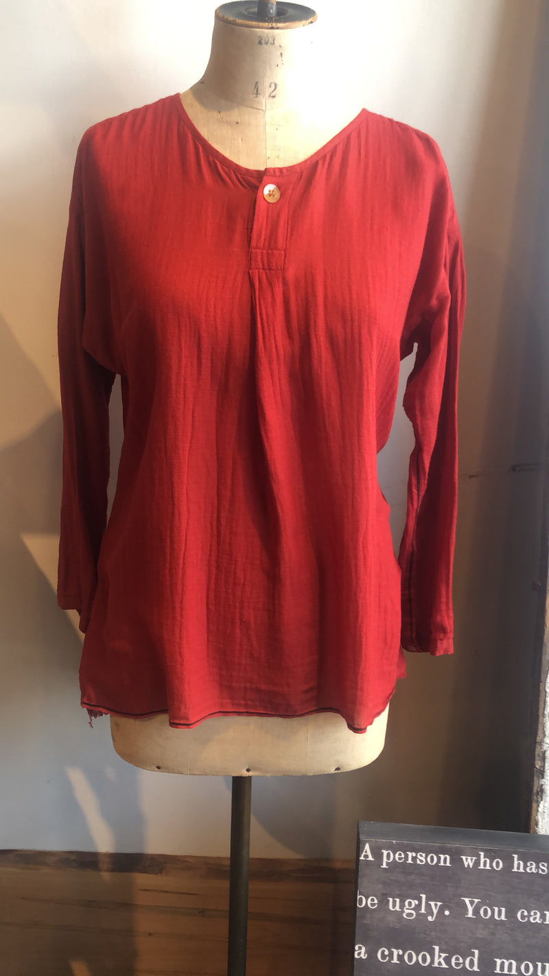6003 Red Blouse