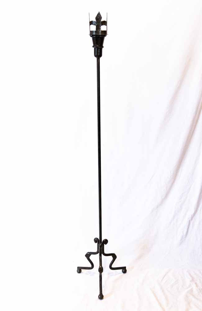 Tall Iron Candle Stand