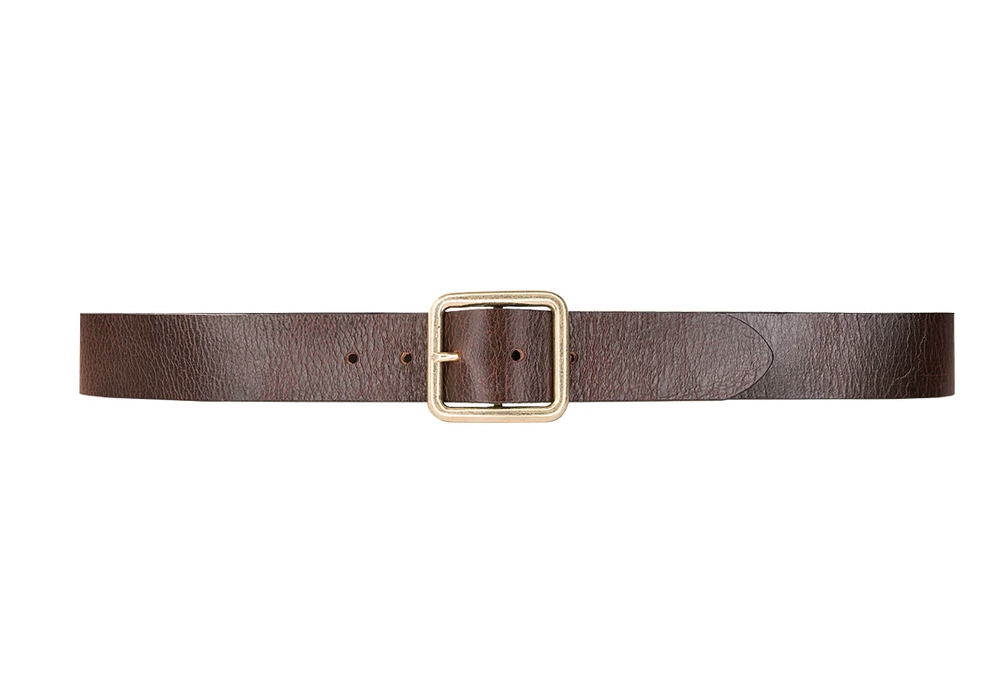 Hestia Belt - Brown/Gold