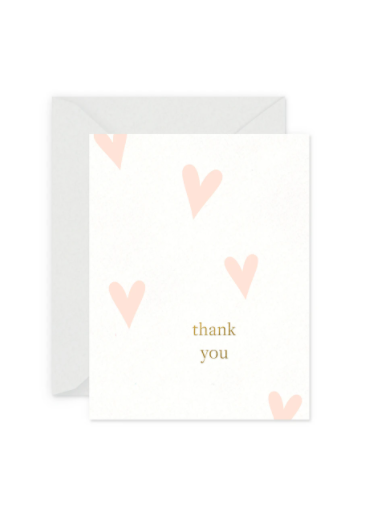 Heart Thank You Card