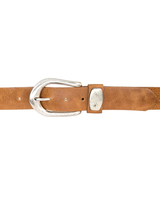 Antique Tan Belt