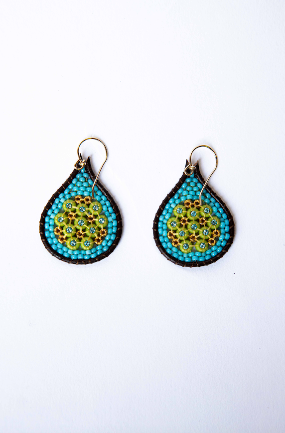 100 Beaded Earrings