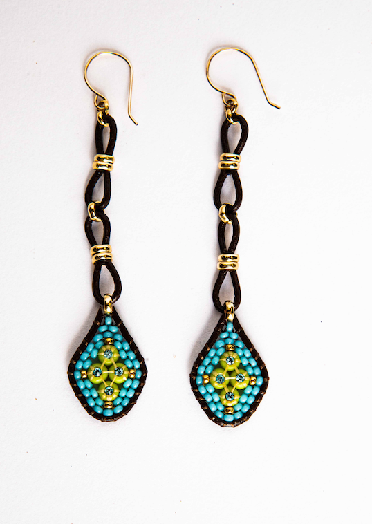 113 Beaded Earrings