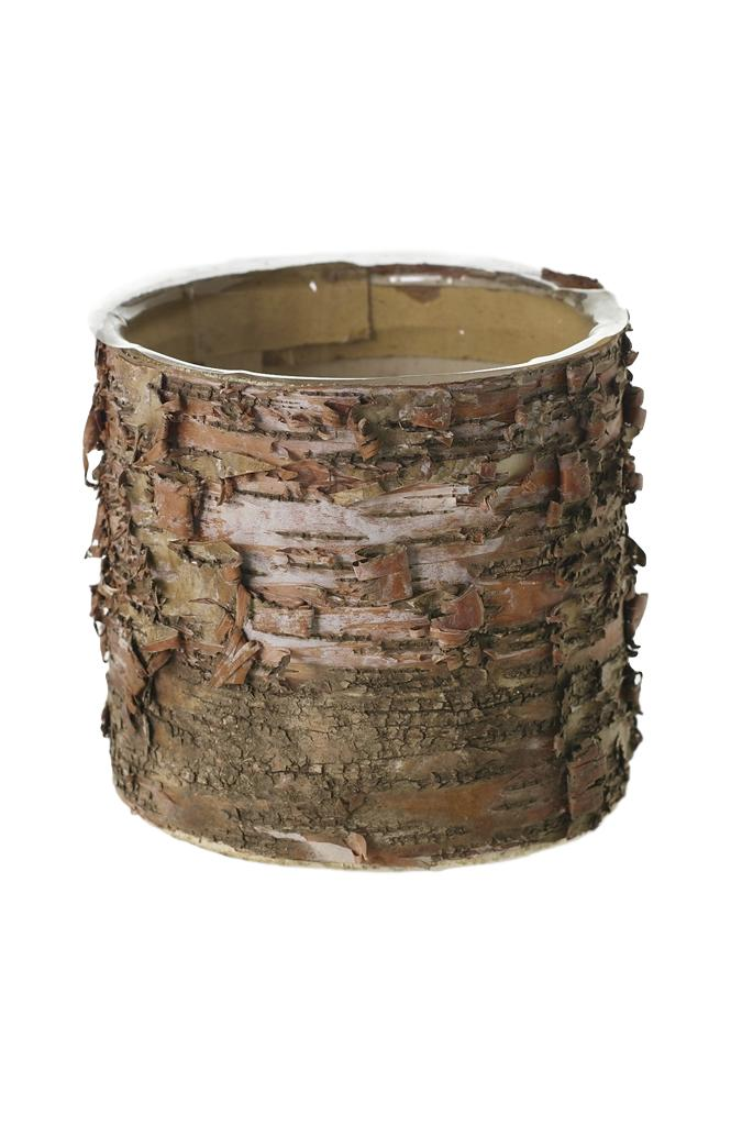 Birch Cylinder Pot - Medium