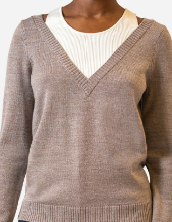 Halter Layer Sweater