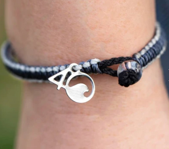 4Ocean Great White Shark Braided Bracelet