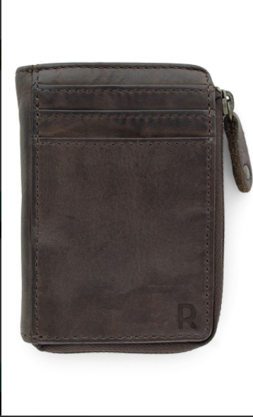 Unisex Ava Wallet - Dark Brown
