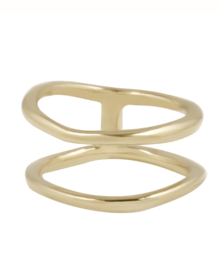 Twins Brass Ring