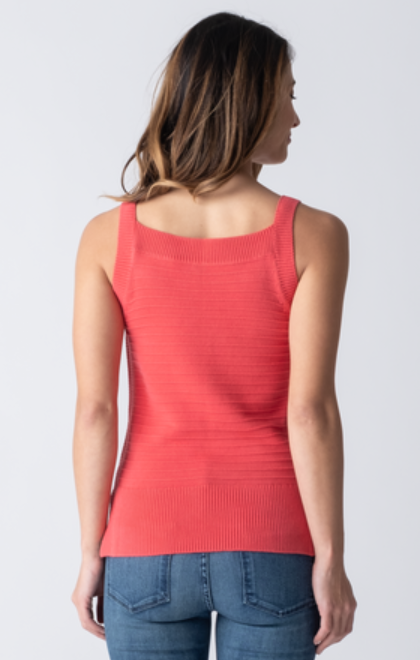 Elaine Knit Tank - Poppy