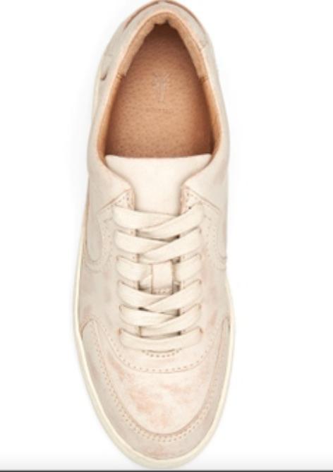 Webster Western Washed White Sneaker