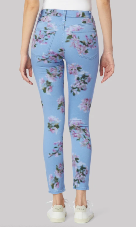 Barbara Blurred Floral Skinny