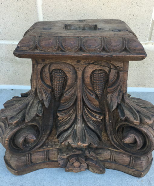 Antique Column Top