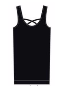 Suzette Criss Cross Reversible Tank
