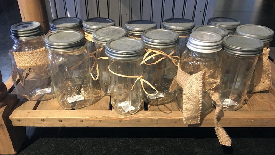 Found Various Mason Jars