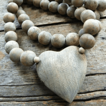 Sugarboo Heart Prayer Beads