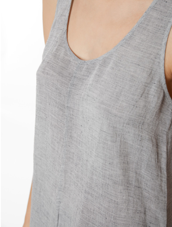 Indy Sleeveless Oversized Top