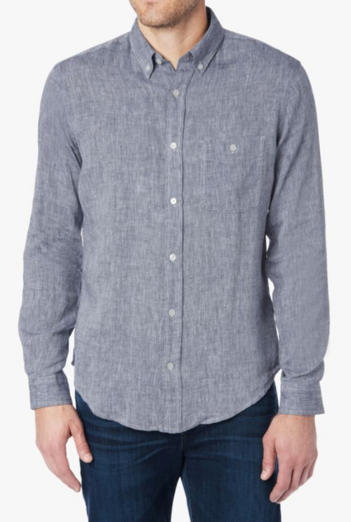 7 For All Mankind Oxford Linen Shirt