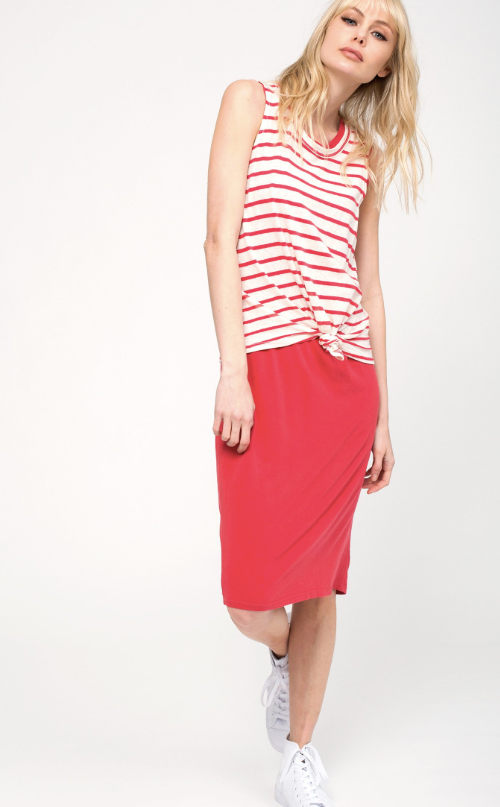 Rojo Knot Layer Dress