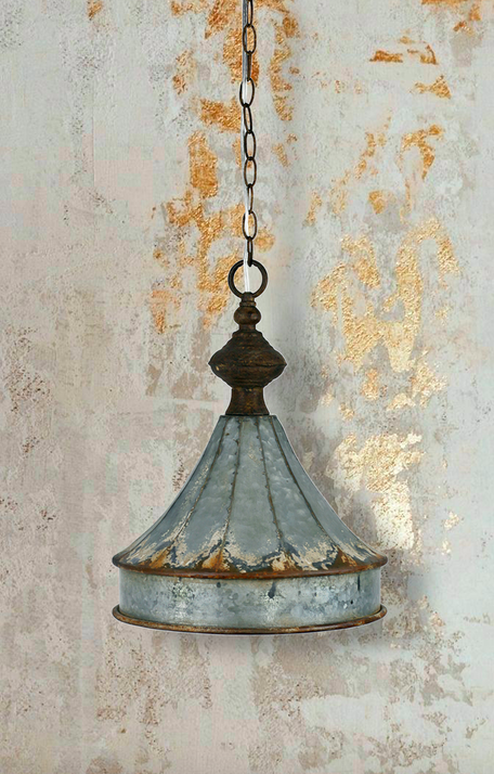 Vagabond Distress Metal Cupola Lamp