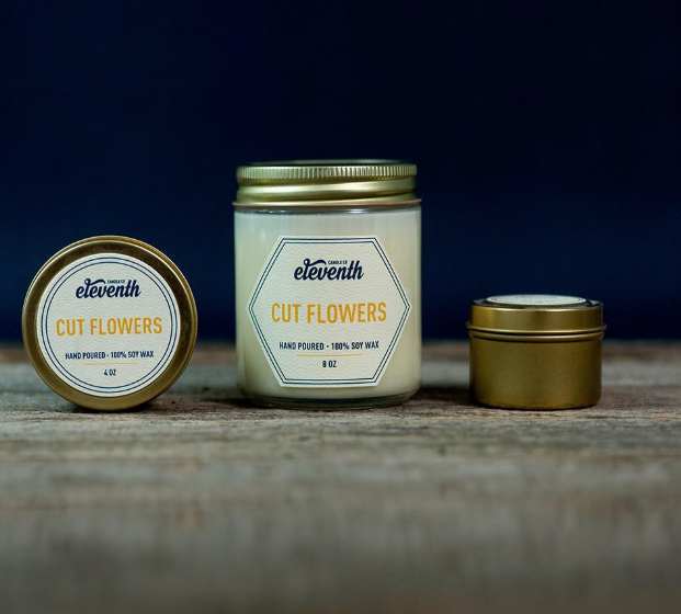 Eleventh Cut Flowers Candle 8oz