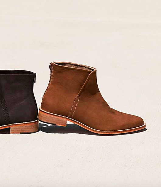 Free People Century Flat Boot