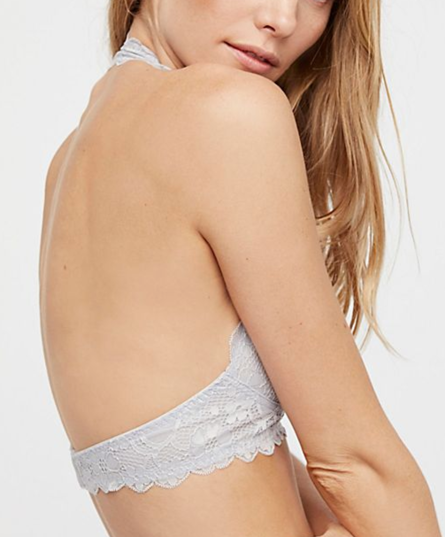Free People Galloon Lace Halter Bralette