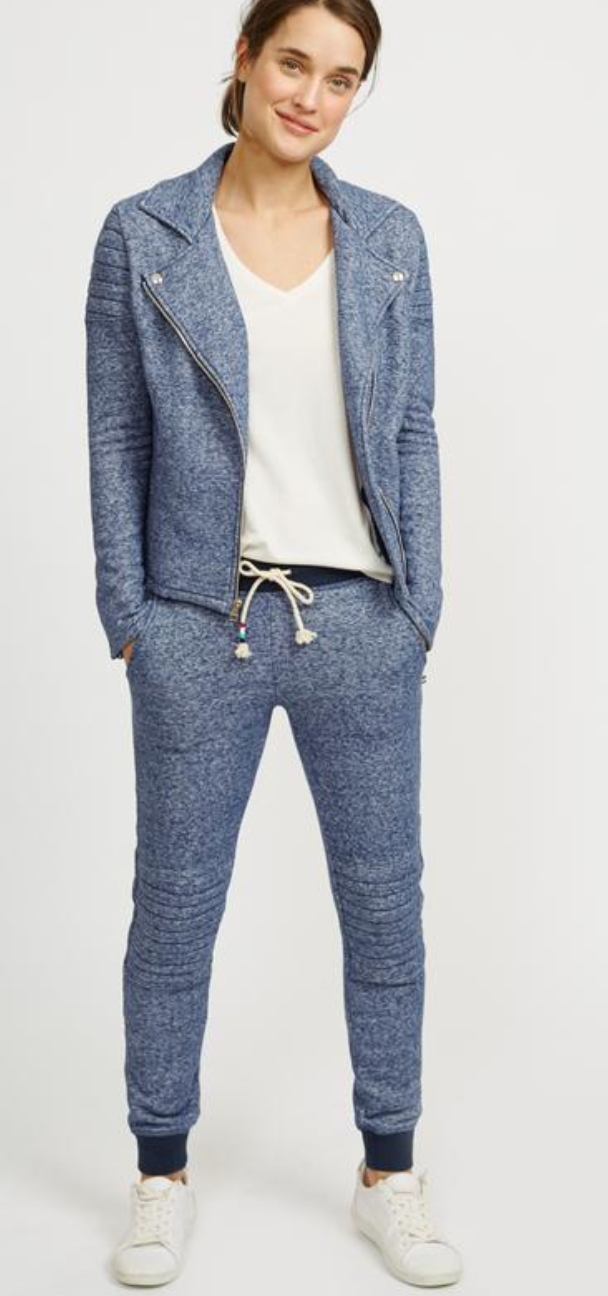 Sol Angeles Denim Moto Jogger