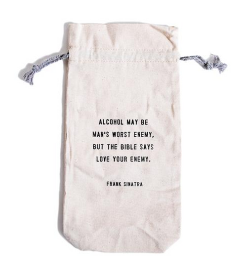 Sugarboo & Co. Wine Bag Frank Sinatra