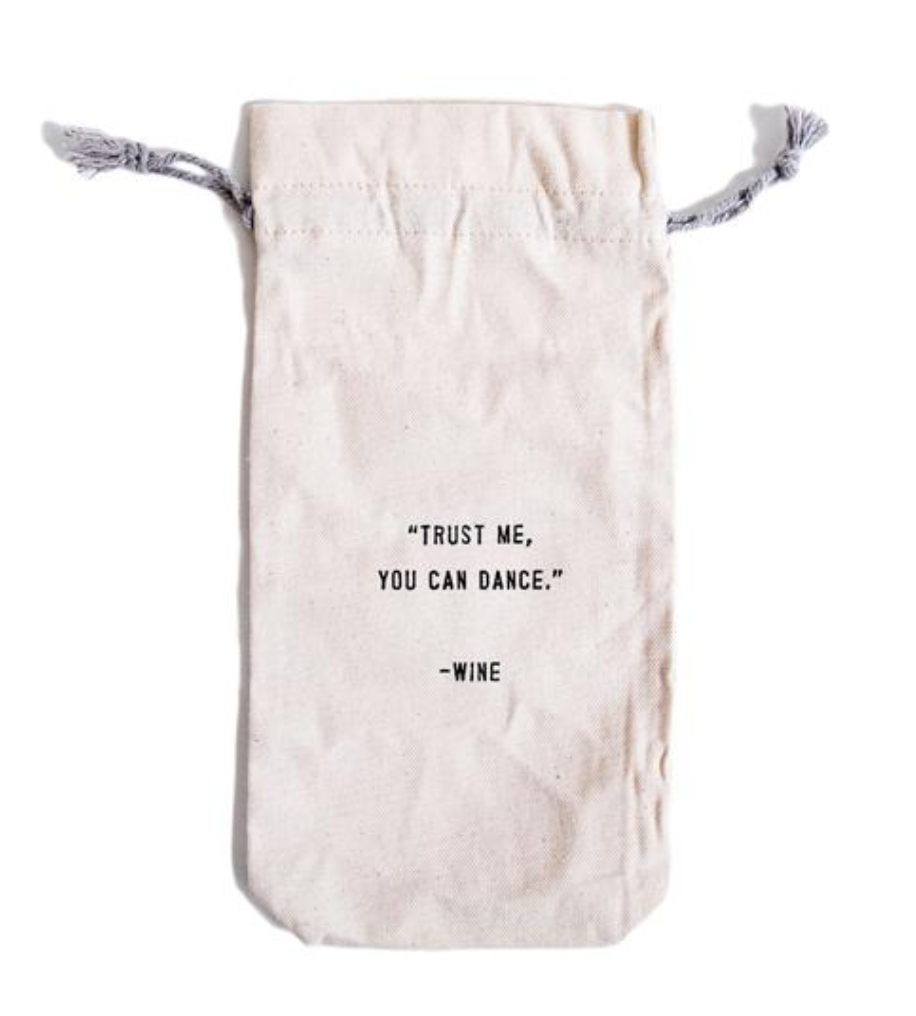 You Can Dance Wine Bag