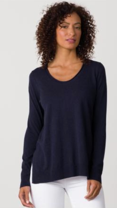 Swing U-Neck Sweater
