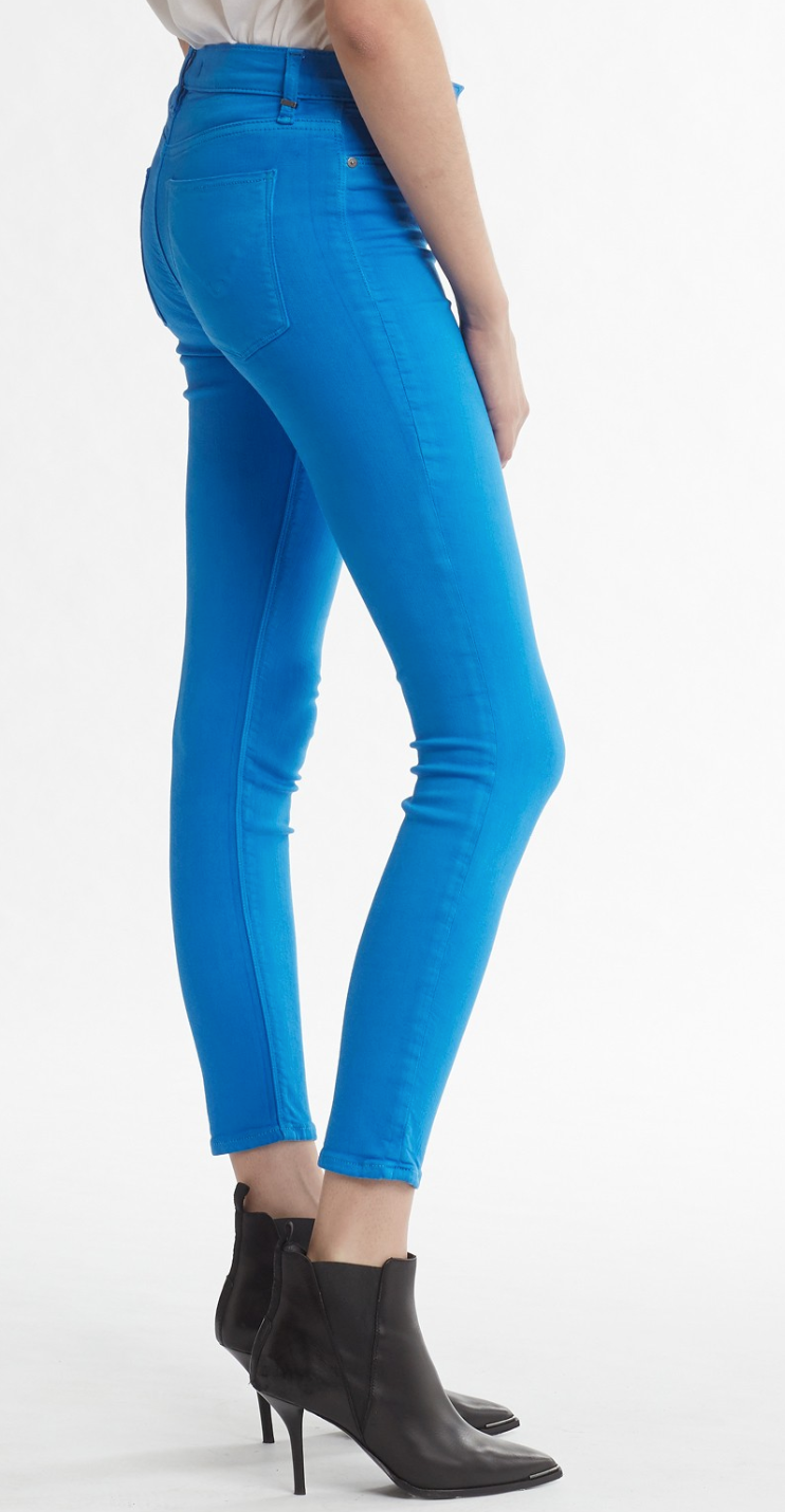 Barbara Cobalt High Rise Skinny