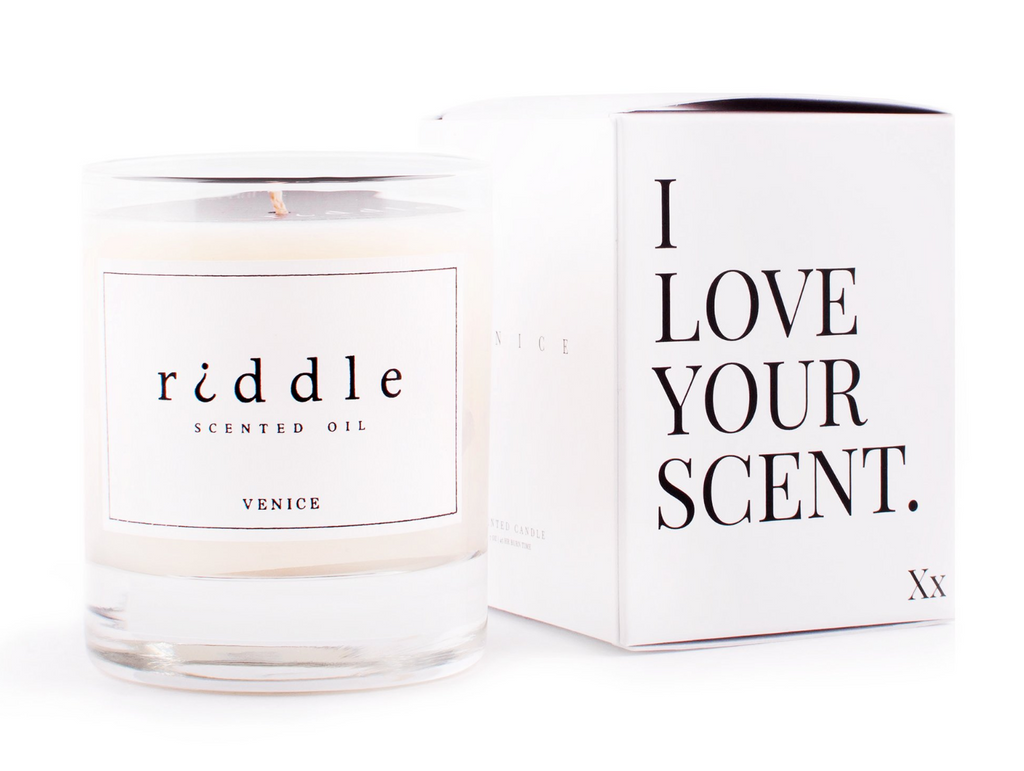 Santal Scented Oil Candle