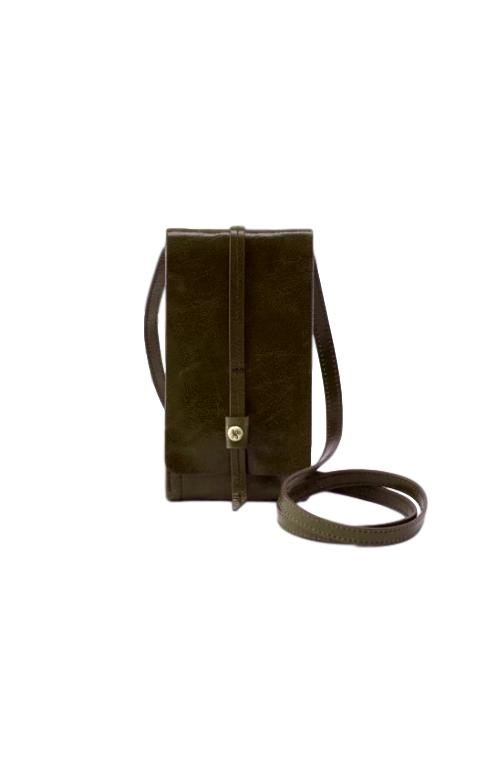 Hobo Token Mistletoe Leather Wallet Crossbody