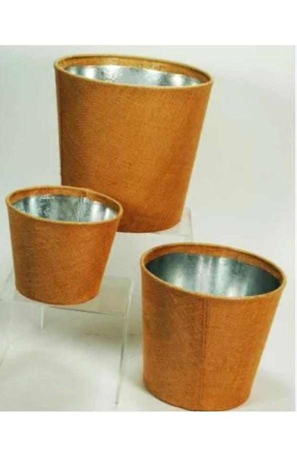 Jute Covered Planter