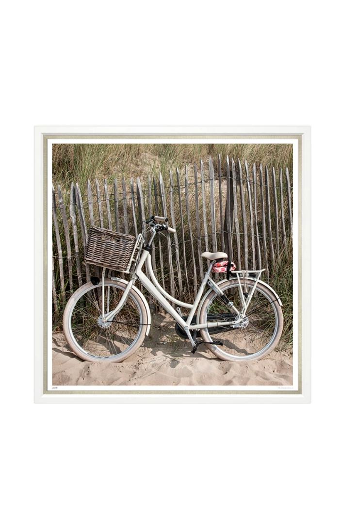 Bike on the Beach Photograph
