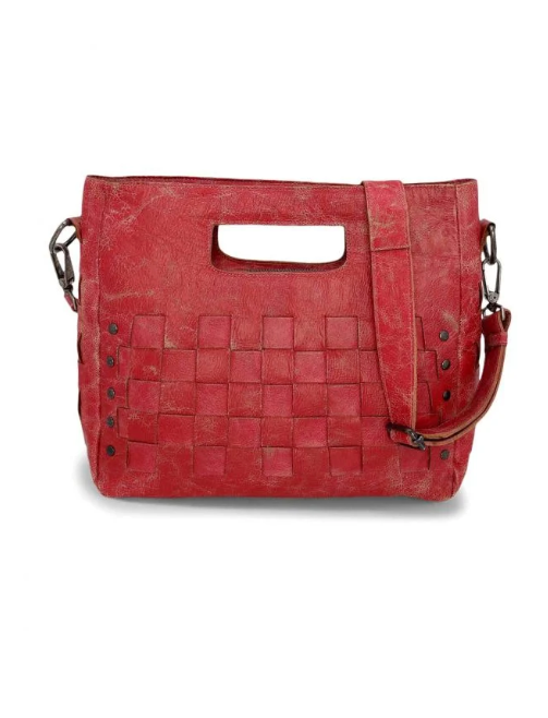 Orchid Red Lux Convertible Bag
