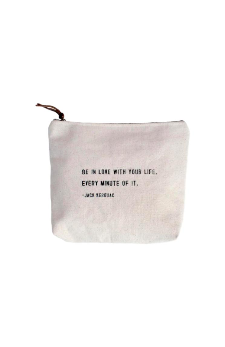Be in Love Canvas Bag