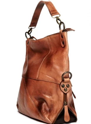 Tahiti Tan Rustic Crossbody Bag