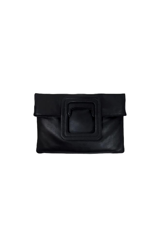 Mateo Black Clutch