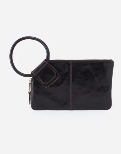 Sable Wristlet Clutch – Black