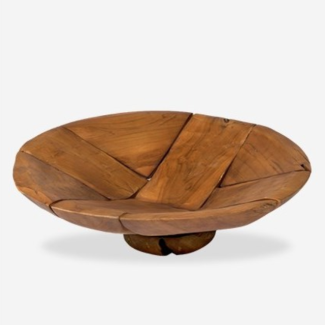 Mosaic Wood Bowl – Medium