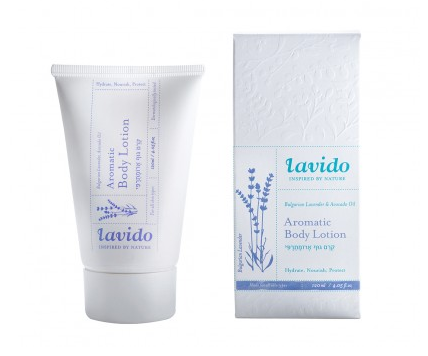 Lavido Bulgarian Lavender Body Lotion